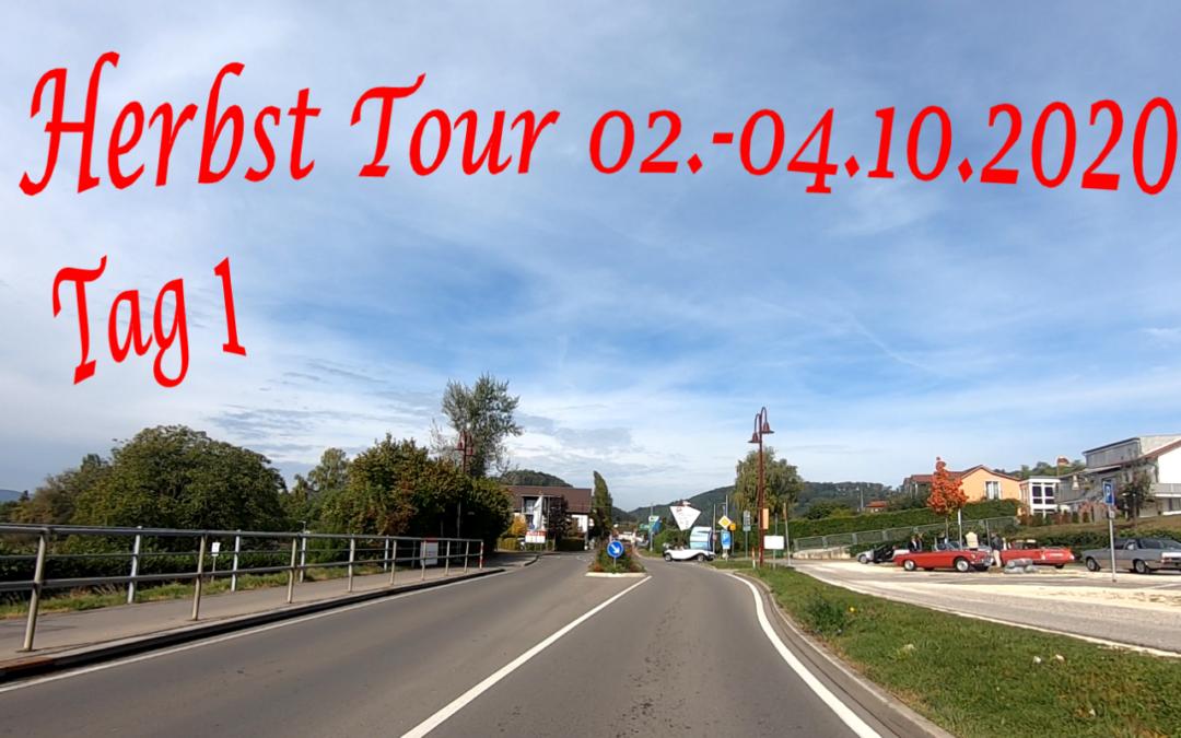 Herbstausfahrt 2020, vom 02. – 04.Oktober